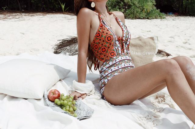 Tribal Print Bikini