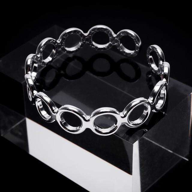 circle bracelets silver 925