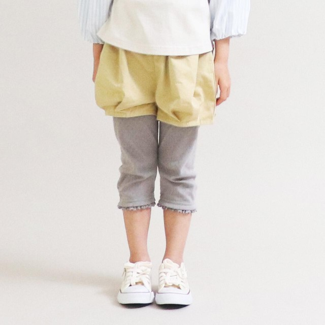 【Little s.t.】7分丈レギンス パターンメッシュ 90〜120cm(A24055-11)