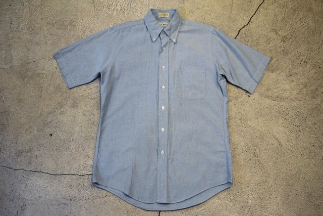 USED  L.L.Bean S/S shirt  90s made in USA  S0354