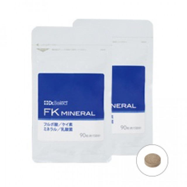Dr.Select FKミネラル 2袋入(180粒) [20012]