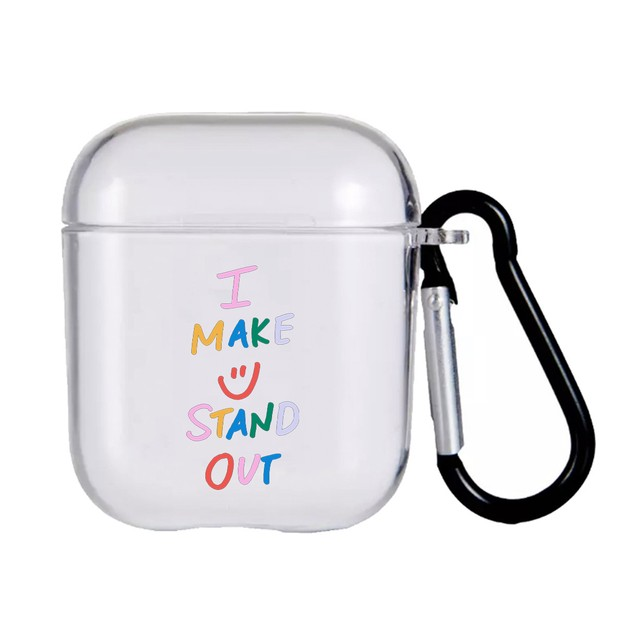 【Cat & Parfum】I MAKE U STAND OUT Clear AirPods Case