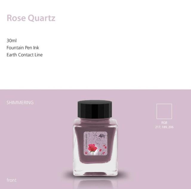 Earth contact line 013 Rose  Quarts