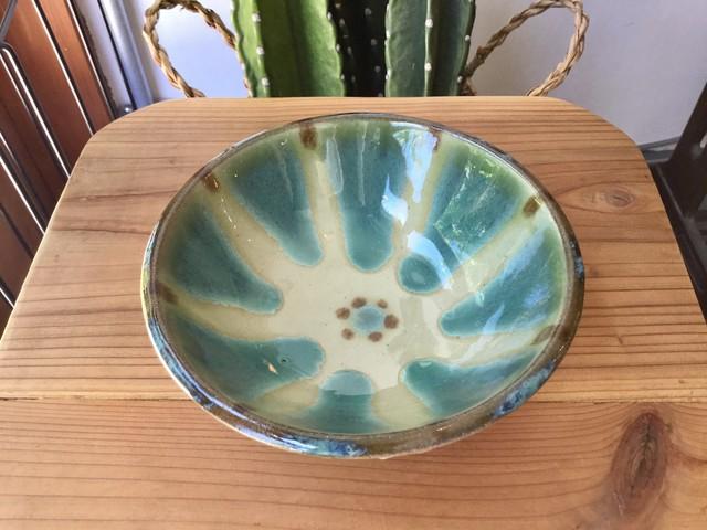 皿4寸 コバルト チチチャン