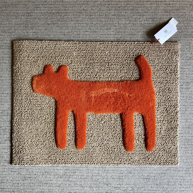 """F/style DOGGY MAT """"HOUSE"""" 玄関マット/犬用マット"""