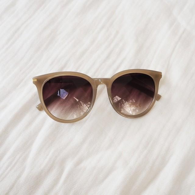 Round Sun-glasses《KHA》19385303