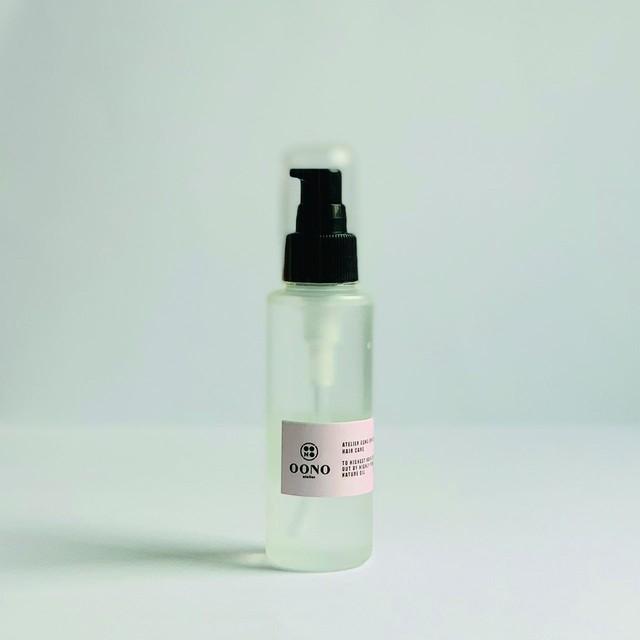 atelierOONO ナチュラルオイルケアPink 100ml ※マンダリン&サンダルウッドの香り