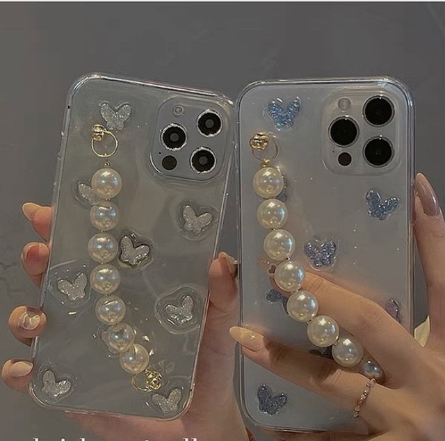 jelly butterfly case 2color