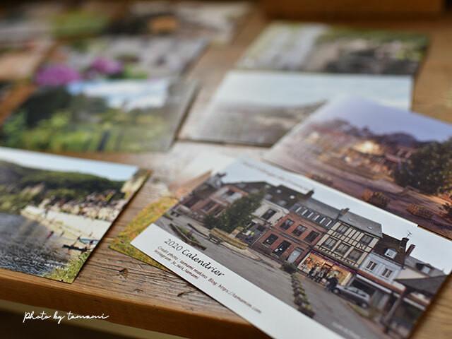 2020年「フランスの美しい村」ポストカードカレンダー