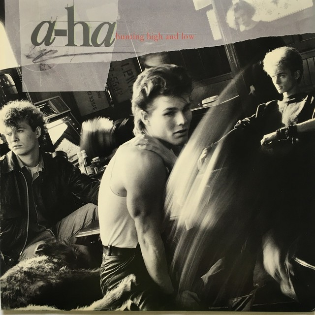 【LP・米盤】a-ha  /  Hunting High And Low