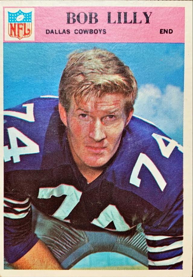 NFLカード 66PCG&SPCE BOB LILLY #060 COWBOYS