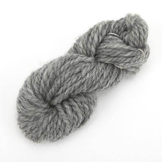 白(ぽわぽこ) ナチュラルコリデール ゲージ用糸サンプル (poko_cr4)手紡ぎ毛糸オーダー(送料込)