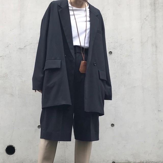 《restock》unscrum ウールオーバージャケット【20AW】