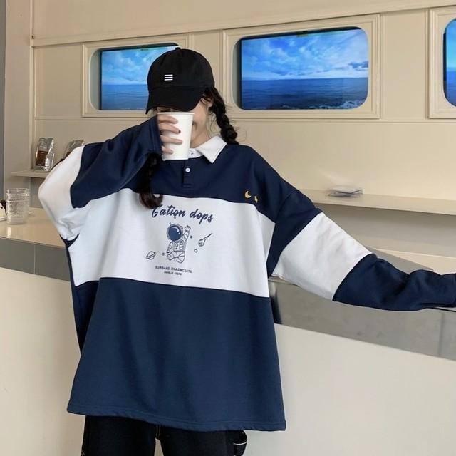 [ 再入荷 ] astronaut print shirt PD2358