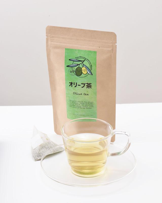 【由良オリーブ】☆京都府宮津産100%・オリーブ茶10パック