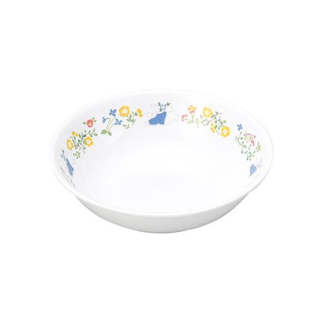 【1159-7120】ピーターラビット 強化磁器 深小皿 ナチュラルガーデン