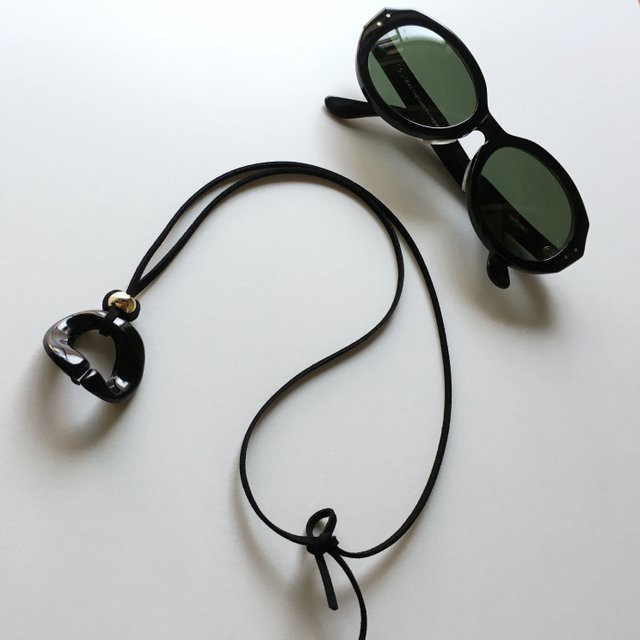 Glasses /Sunglasses holder for unisex (Black)