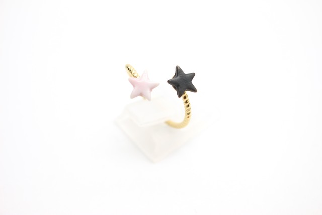 有田焼フォークリング 星×星