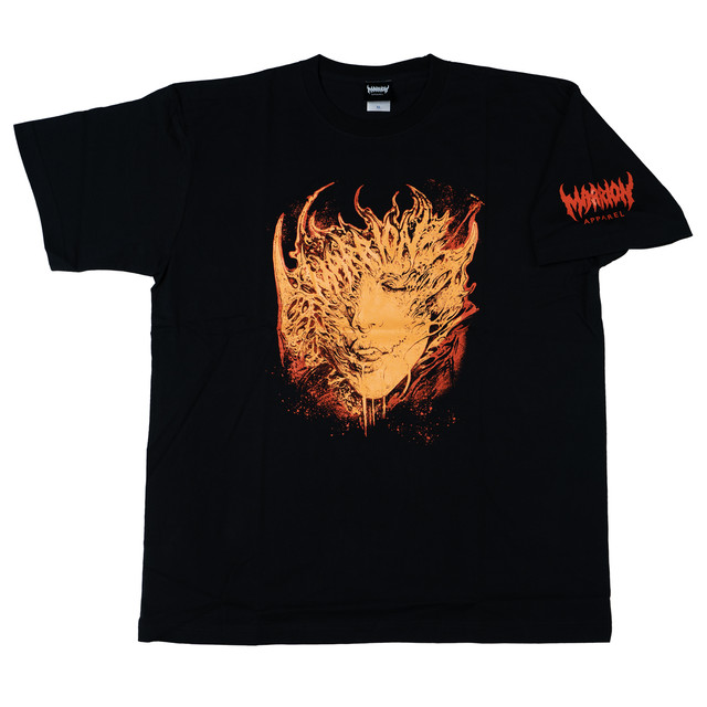 DavidJorquera Vol.2 T-shirts (Black×Orange)