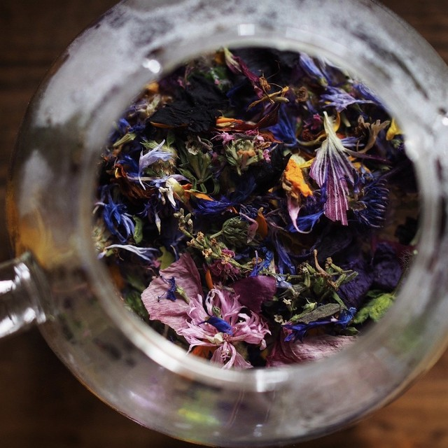 edibleflower tea  花茶