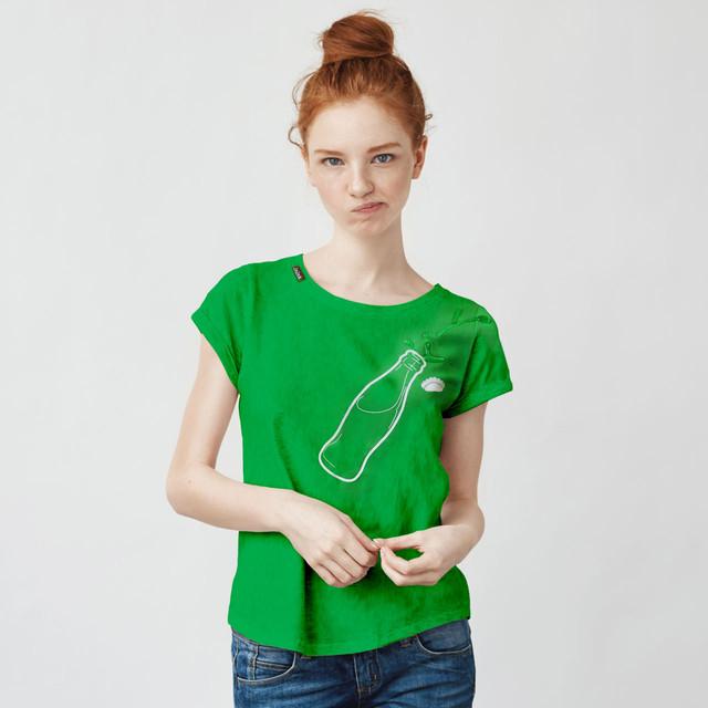 bottle Tシャツ(グリーン)