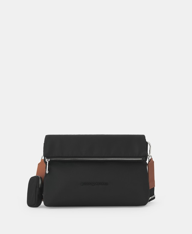 NYLON CROSSBODY WITH ZIP CLOSURE [212601557111]