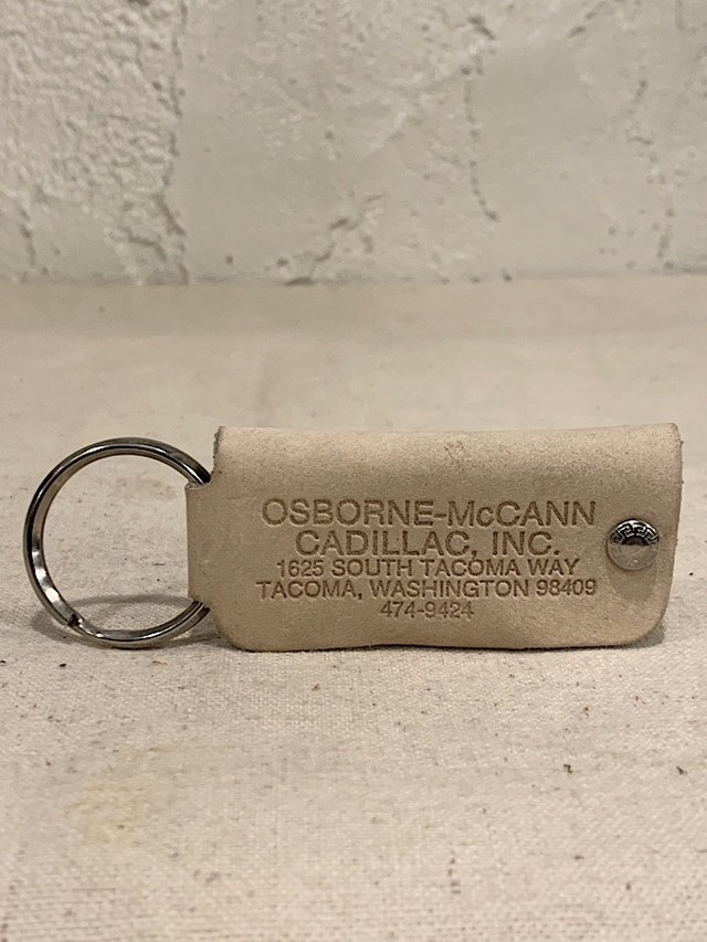 "LEATHER KEY CASE "" OSBORNE-McCANN CADILLAC,INC. """