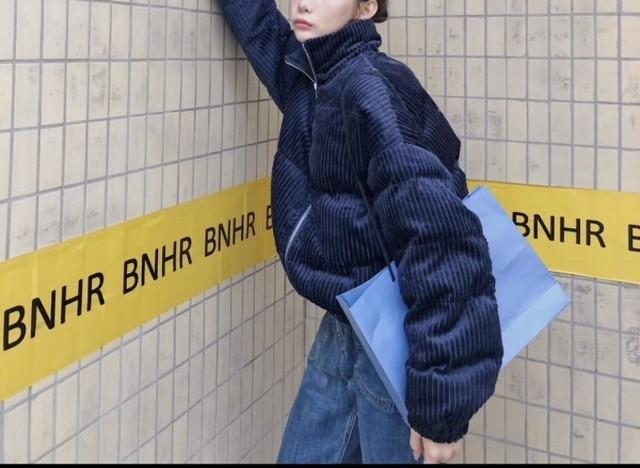 コーデュロイぺディングアウター アウター ジャンパー 韓国ファッション