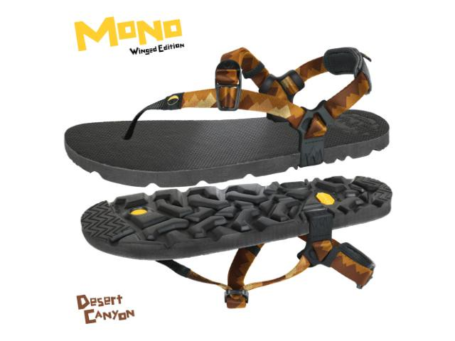 【luna sandals】 Mono Winged Edition DC(Desert Canyon)