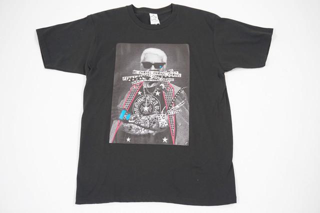 【StarLean】フォトプリントTシャツ【ブラック】