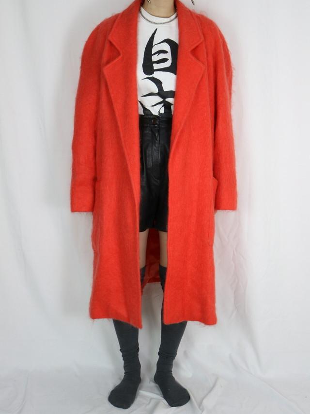 mohair long coat【5118】