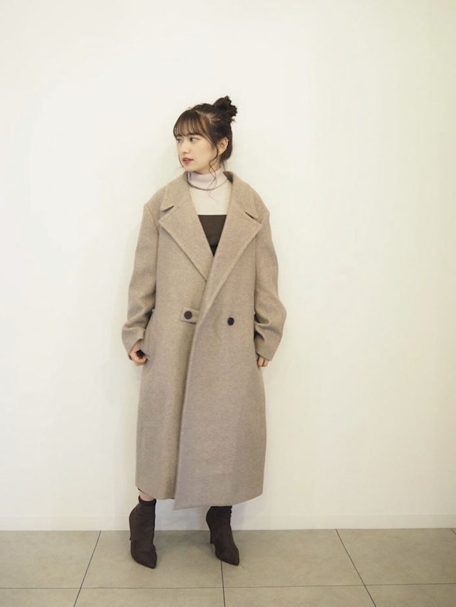 Big collardouble coat  [B-31]
