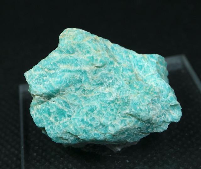 自主採掘!アマゾナイト カリフォルニア産 原石  12,5g AZ0040 天河石(てんがせき) 鉱物 天然石