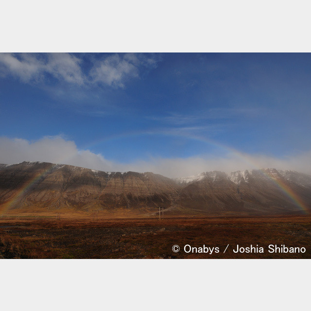 No.8-サイズM『Rainbow in  Westfjords』