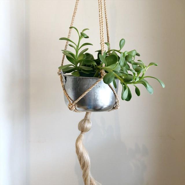 Vintage hanging planter