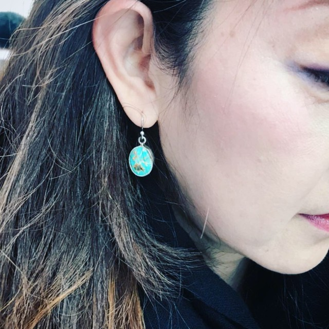 Turquoise earings pairs