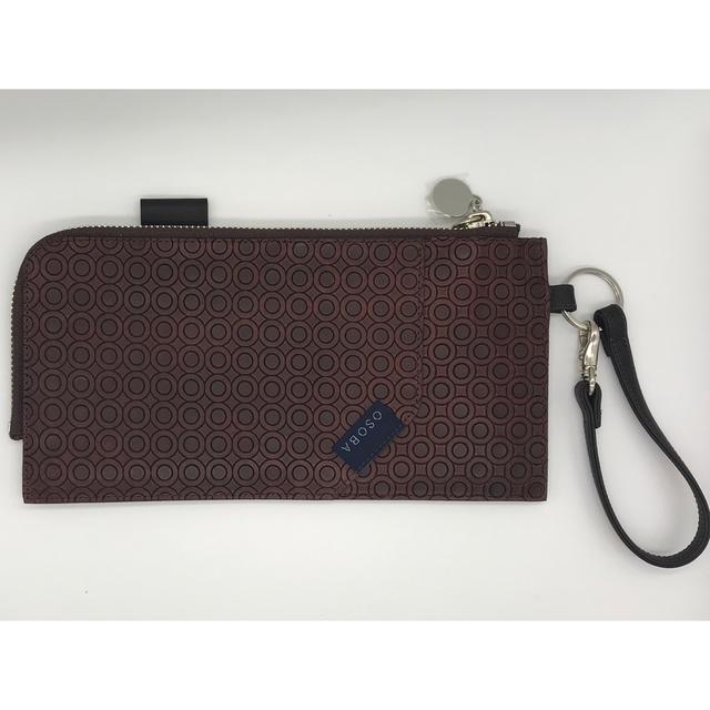 WalkWith ブラウン【OSOBA 3way wallet】