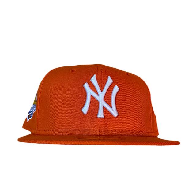 NEW ERA New York Yankees 1999 World Series 59Fifty Fitted / Orange×White (Gray Brim)
