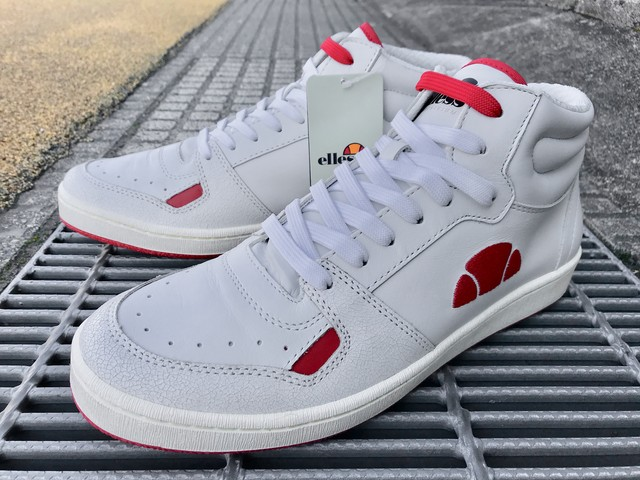 ELLESSE ROME ARCHIVIUM (WHITE/RED)