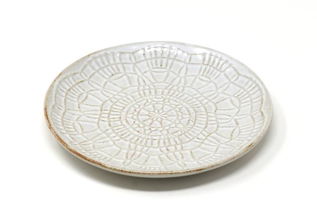 sen|Doily plate L