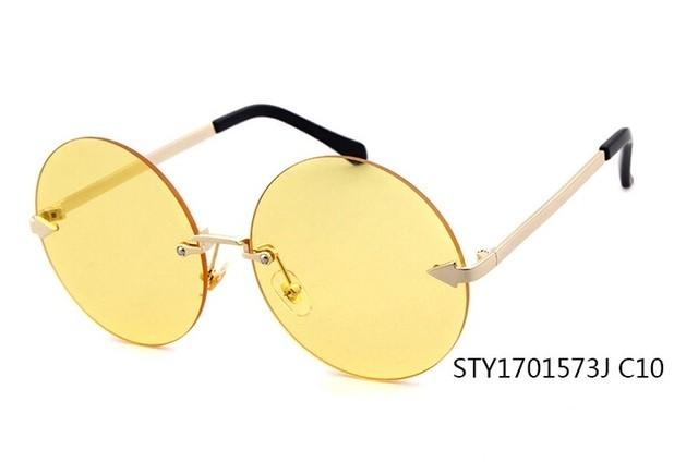 [限定受注生産商品]トレンドデザインカラーサングラス 10カラー