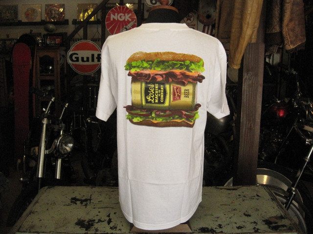 LOSER MACHINE Tee HOAGIE / WHITE