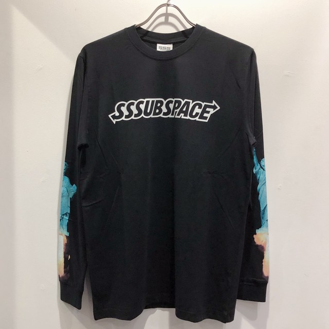 SSS WORLD CORP / SSSUBSPACE GO HOME LIBERTY STATUE LONG SLEEVE TEE