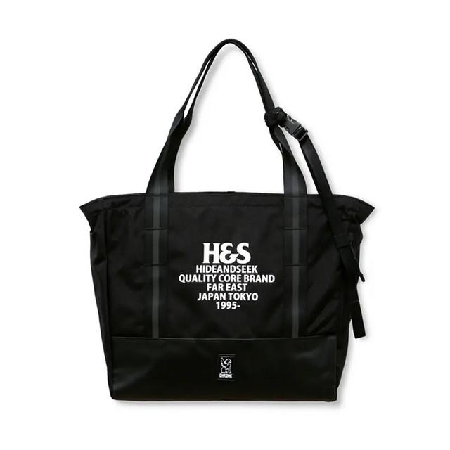 HIDEANDSEEK(ハイドアンドシーク) / CIVVY MESSENGER TOTE BAG(HG-070821)(コラボレーショントートバック)