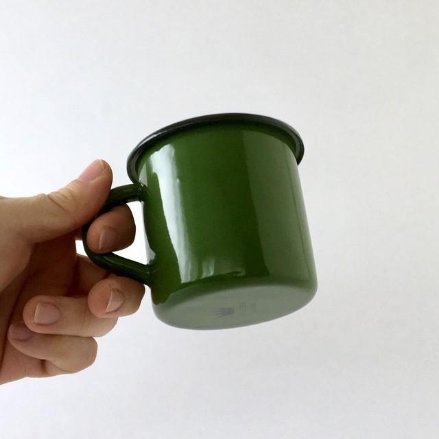 ホーローのマグ グリーン |Mug Green
