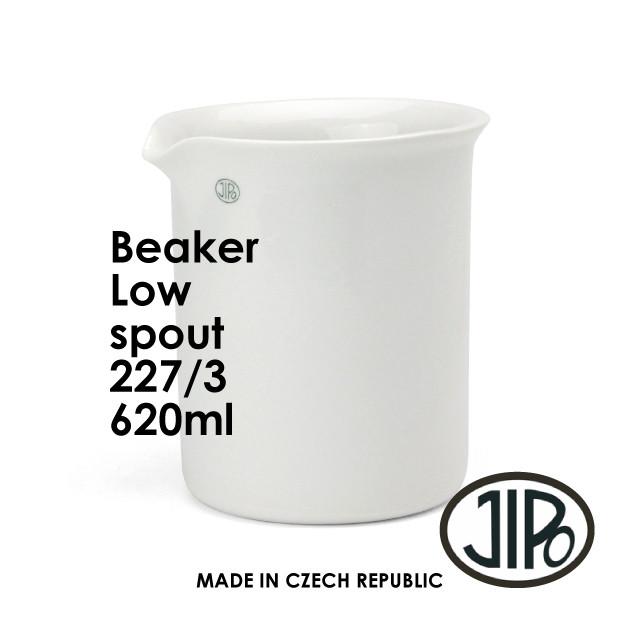 """JIPO Beaker Low Spout """"227/3"""" [620ml]"""