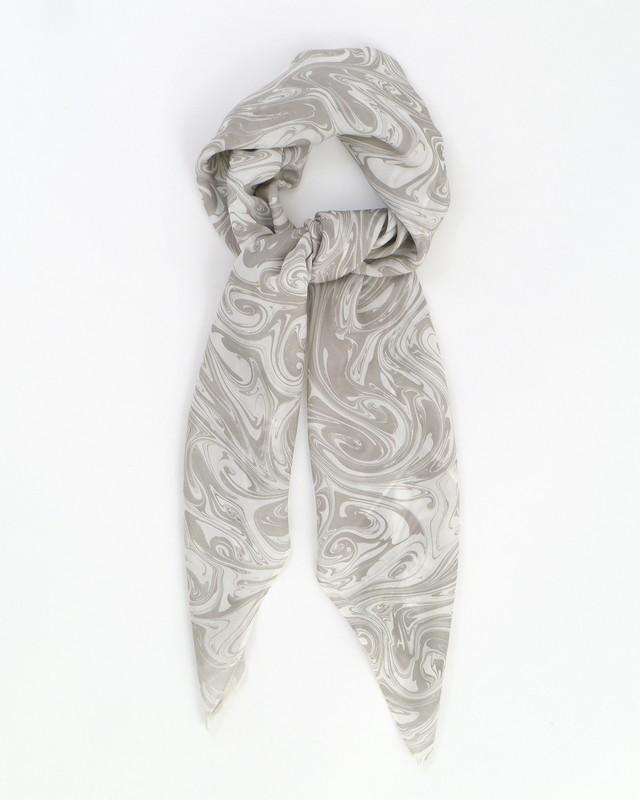 墨流しスカーフ/マーブル