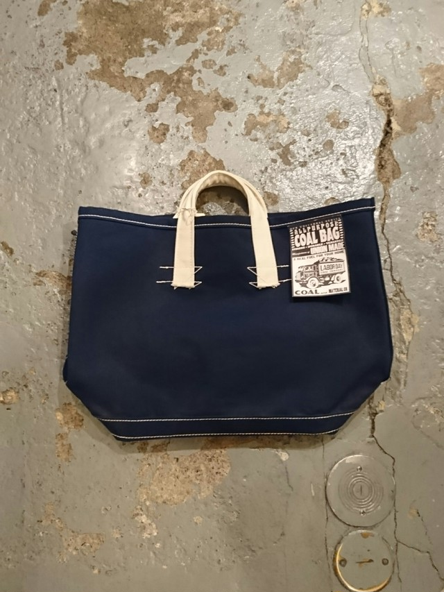 """LABOR DAY """"COAL BAG Large"""" Navy Color"""