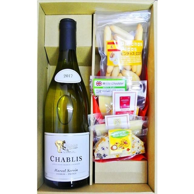 ギフト シャトー・ド・コワント  グルナッシュ コート・ド・プルイユ 白ワイン & チーズ&ピコス 5種セット