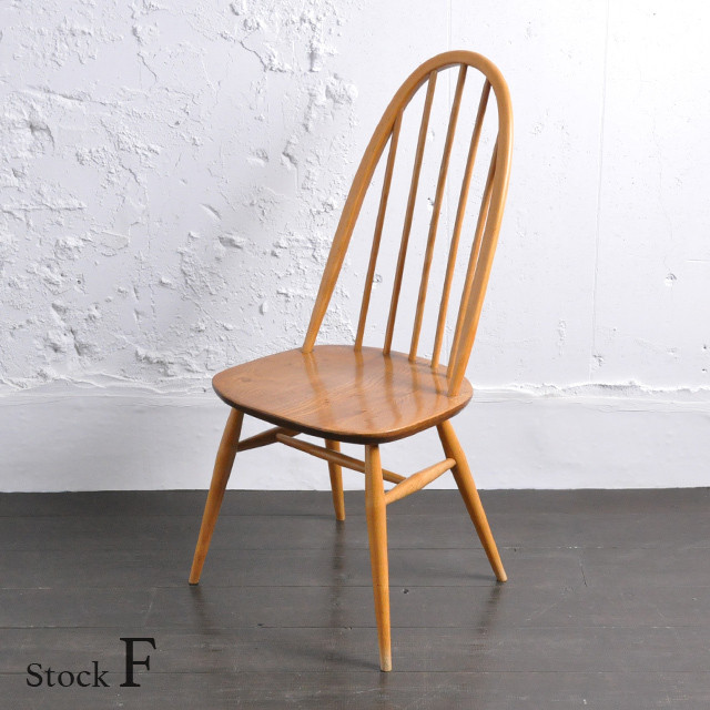 Ercol Quaker Chair 【F】/ アーコール クエーカー チェア / 1901-0001f